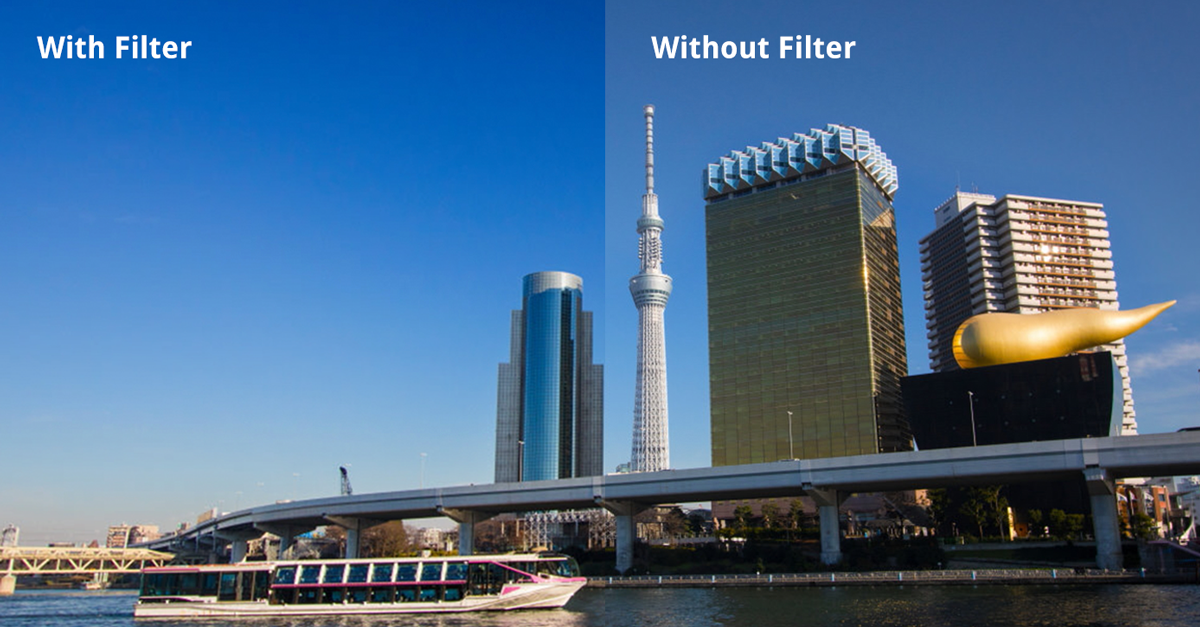 Get Bluer Skies with a Polarizing Filter